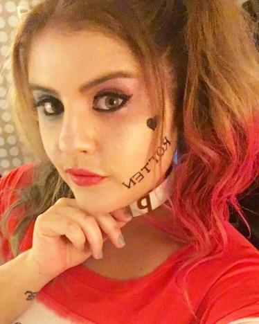 (Video) Halloween Makeup: Harley Quinn