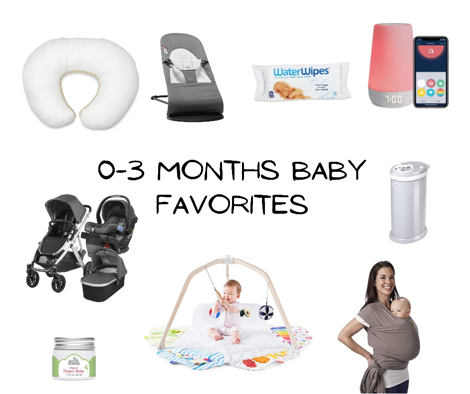 Favoritos de bebé 0-3 meses / 0-3 months baby favorites